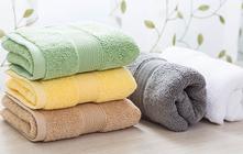 Farbige Handtücher