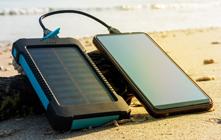 Powerbanks op zonne energie