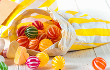 Sachets bonbons